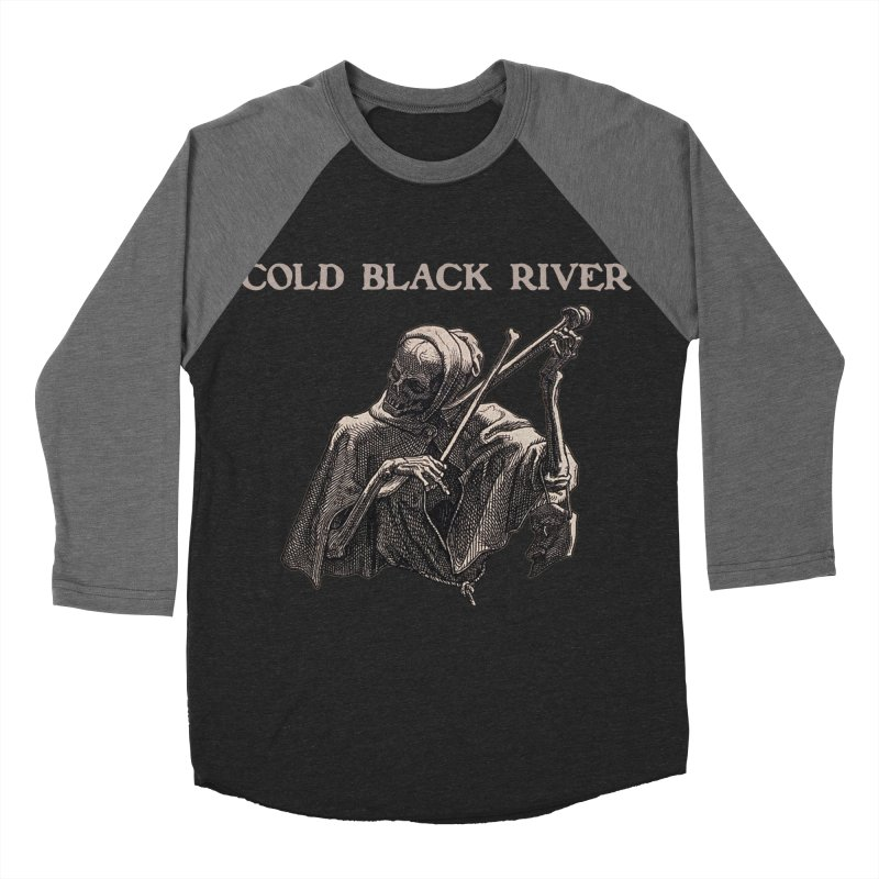 Tales of Death & The Devil Women's Baseball Triblend Longsleeve T-Shirt by COLD BLACK RIVER