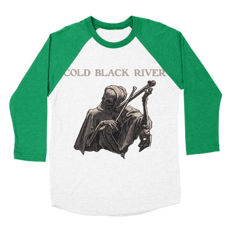 Tales of Death & The Devil Men's Baseball Triblend Longsleeve T-Shirt by COLD BLACK RIVER