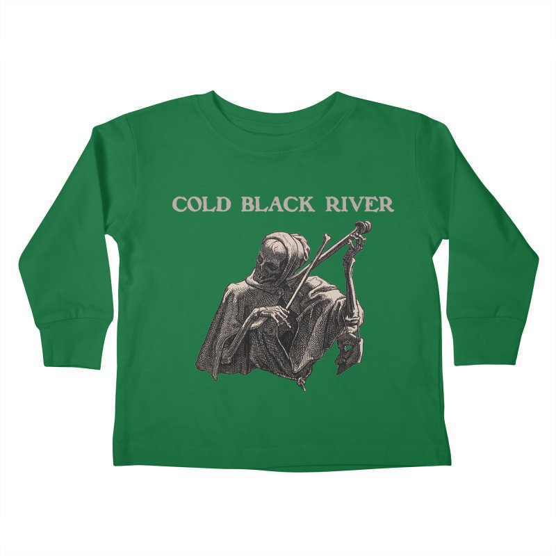 Tales of Death & The Devil Kids Toddler Longsleeve T-Shirt by COLD BLACK RIVER