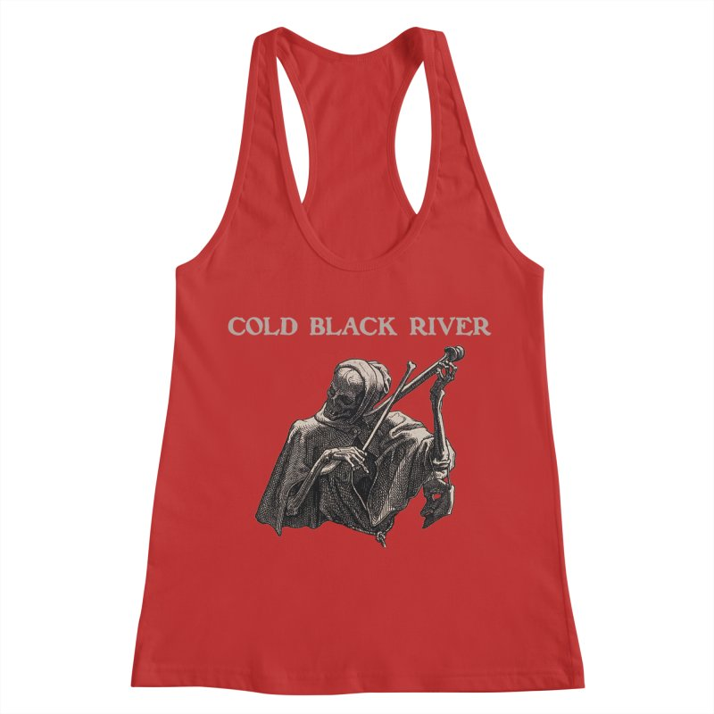 Tales of Death & The Devil Women's Racerback Tank by COLD BLACK RIVER