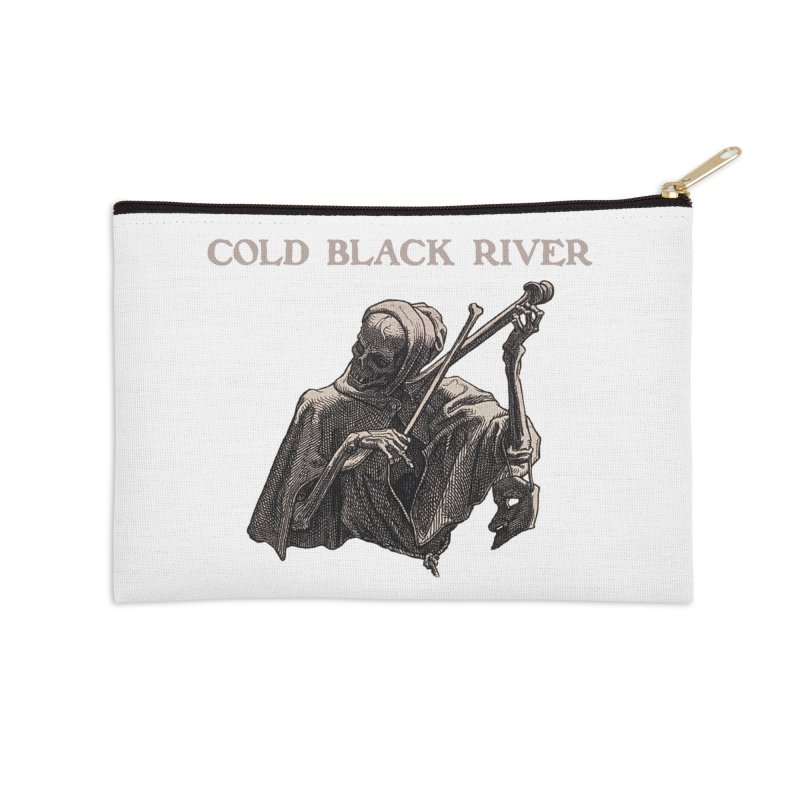 Tales of Death & The Devil Accessories Zip Pouch by COLD BLACK RIVER