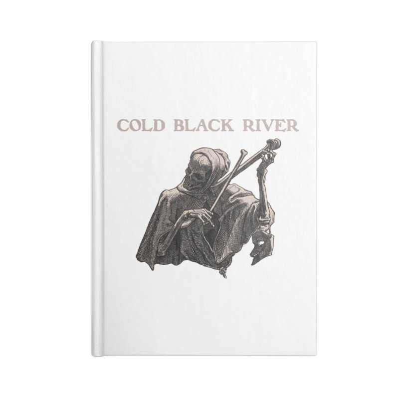 Tales of Death & The Devil Accessories Blank Journal Notebook by COLD BLACK RIVER