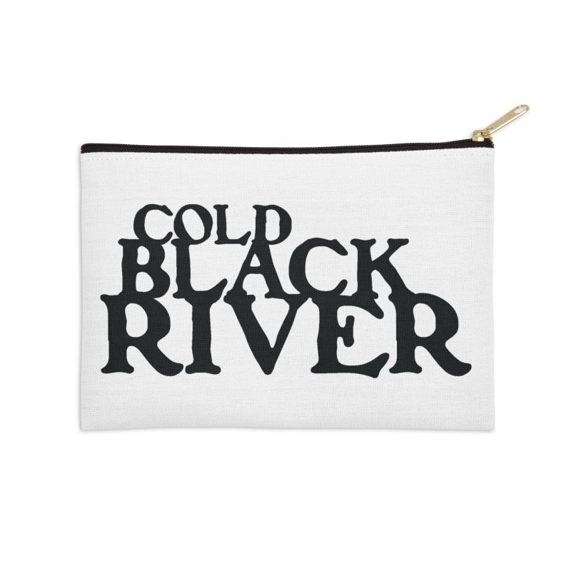 Cold Black River Tales of... logo Accessories Zip Pouch by COLD BLACK RIVER