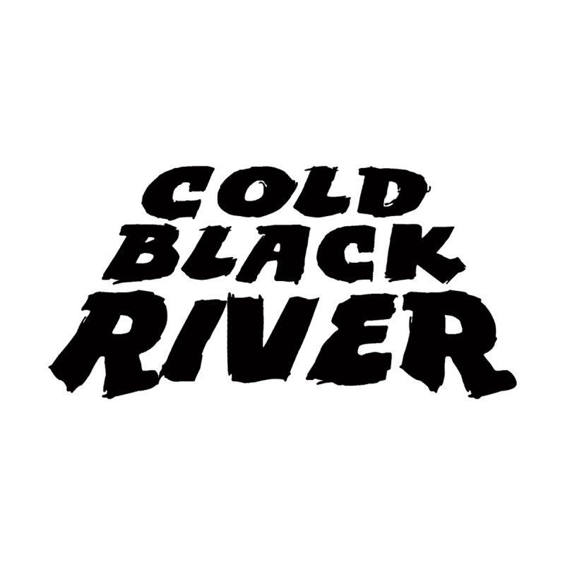 Cold Black River Original Logo Accessories Zip Pouch by COLD BLACK RIVER