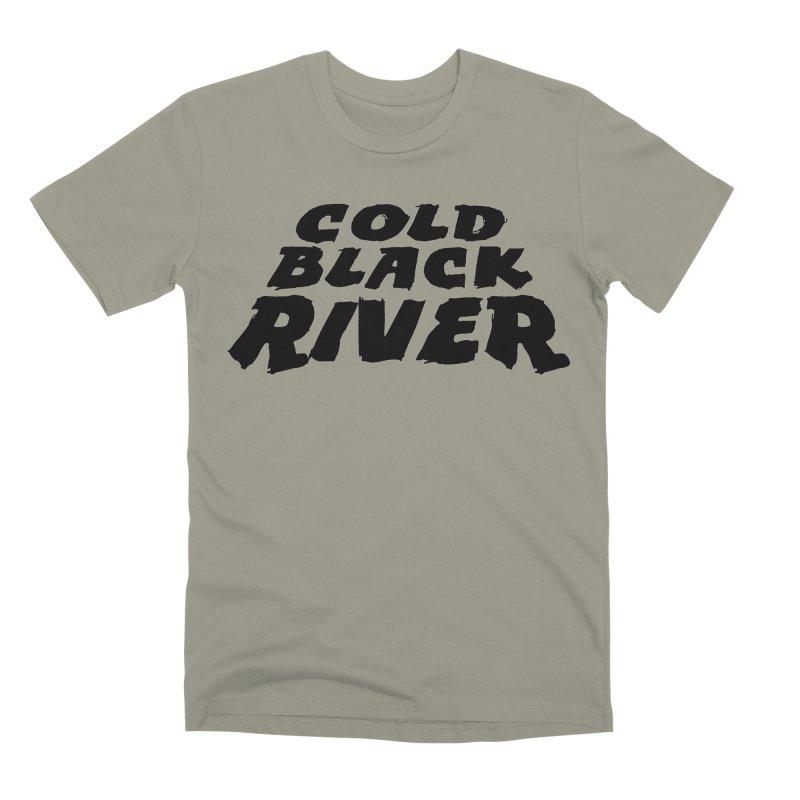 Cold Black River Original Logo Men's Premium T-Shirt by COLD BLACK RIVER