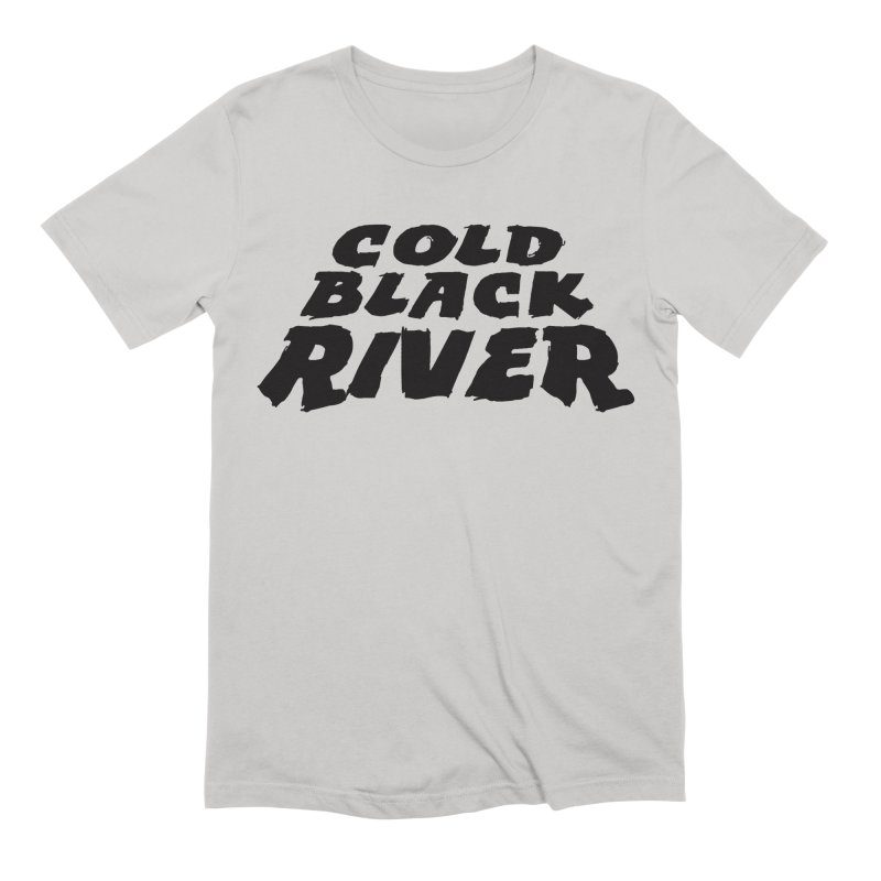 Cold Black River Original Logo Men's Extra Soft T-Shirt by COLD BLACK RIVER