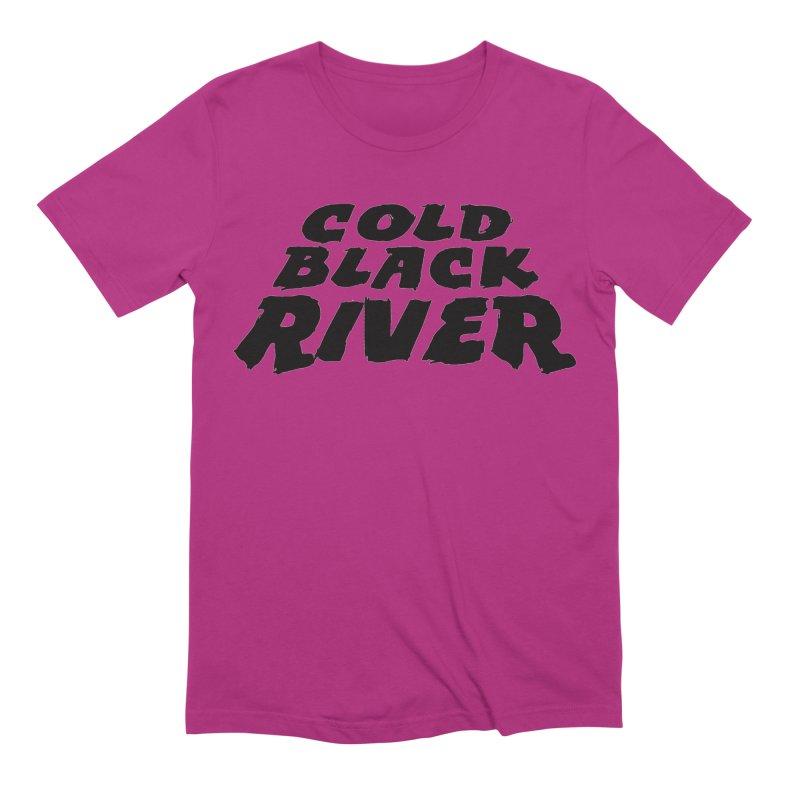 Cold Black River Original Logo Men's Extra Soft T-Shirt by COLD BLACK RIVER