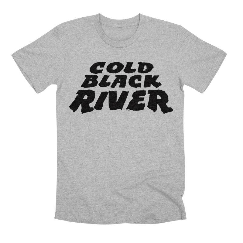 Cold Black River Original Logo Men's T-Shirt by COLD BLACK RIVER