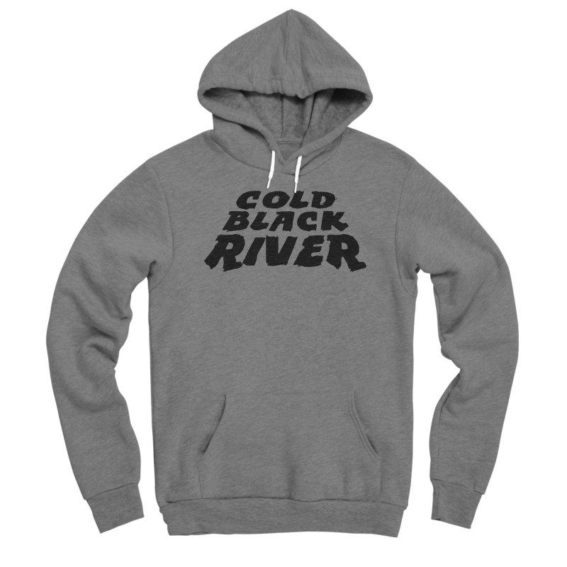 Cold Black River Original Logo Men's Sponge Fleece Pullover Hoody by COLD BLACK RIVER