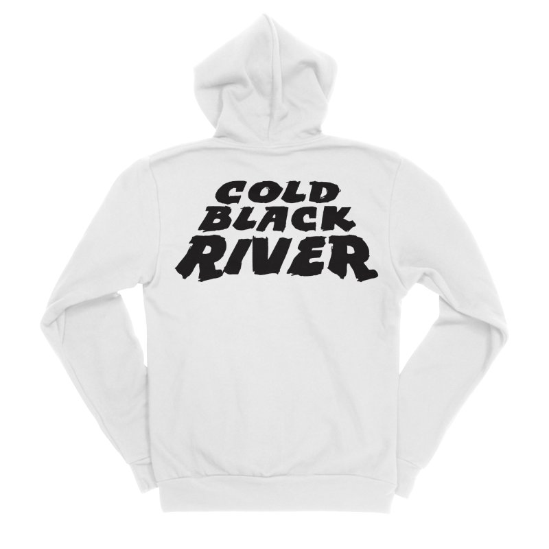 Cold Black River Original Logo Women's Sponge Fleece Zip-Up Hoody by COLD BLACK RIVER