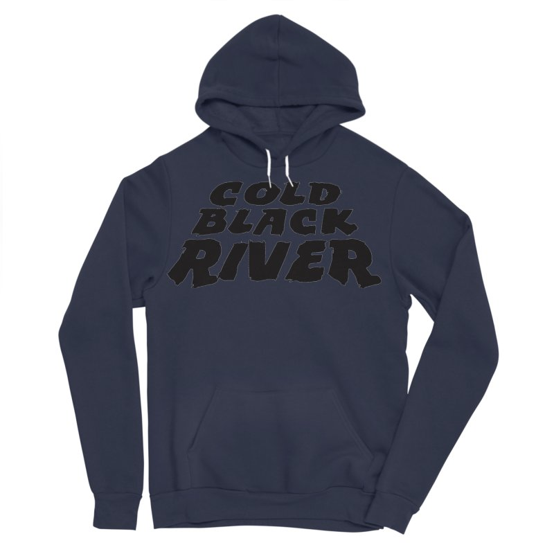 Cold Black River Original Logo Men's Sponge Fleece Pullover Hoody by COLD BLACK RIVER