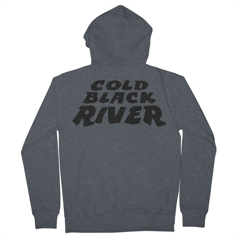 Cold Black River Original Logo Women's French Terry Zip-Up Hoody by COLD BLACK RIVER