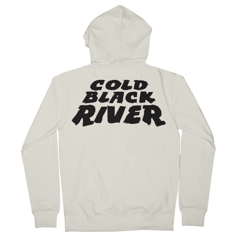 Cold Black River Original Logo Men's French Terry Zip-Up Hoody by COLD BLACK RIVER