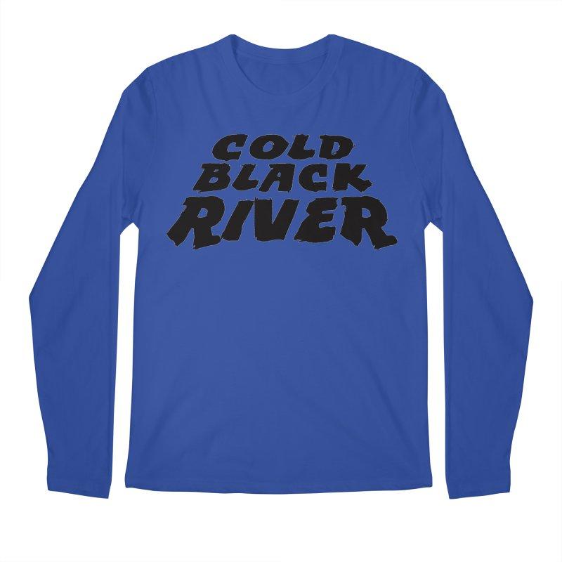 Cold Black River Original Logo Men's Regular Longsleeve T-Shirt by COLD BLACK RIVER