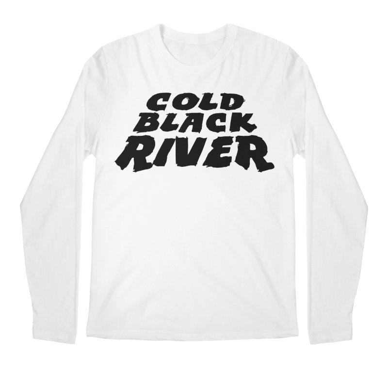 Cold Black River Original Logo Men's Regular Longsleeve T-Shirt by COLD BLACK RIVER