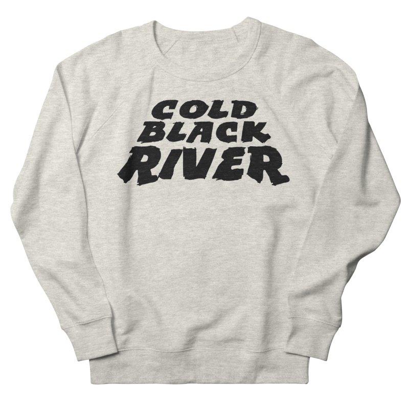 Cold Black River Original Logo Men's French Terry Sweatshirt by COLD BLACK RIVER