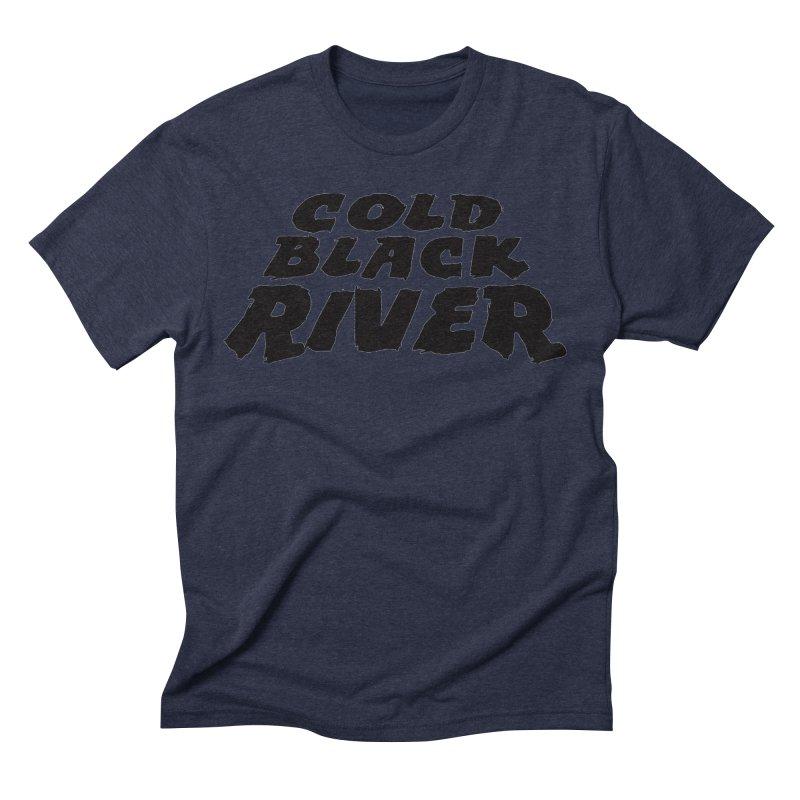 Cold Black River Original Logo Men's Triblend T-Shirt by COLD BLACK RIVER