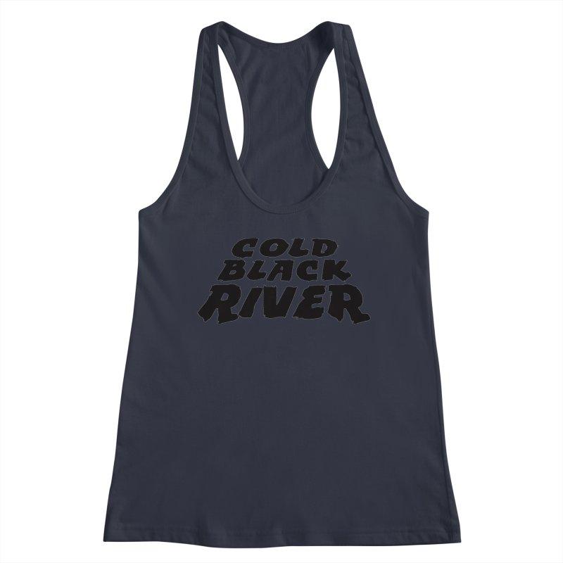 Cold Black River Original Logo Women's Tank by COLD BLACK RIVER