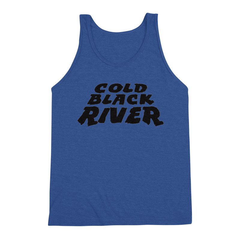 Cold Black River Original Logo Men's Tank by COLD BLACK RIVER