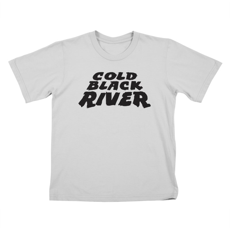 Cold Black River Original Logo Kids T-Shirt by COLD BLACK RIVER