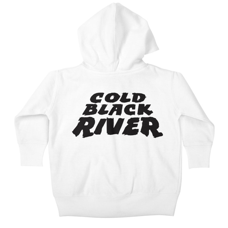 Cold Black River Original Logo Kids Baby Zip-Up Hoody by COLD BLACK RIVER
