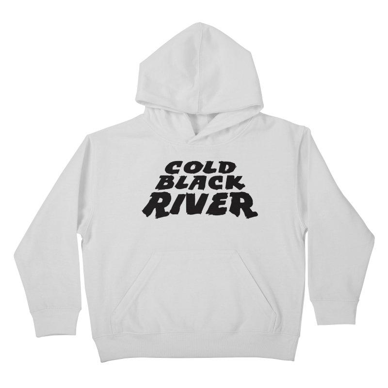 Cold Black River Original Logo Kids Pullover Hoody by COLD BLACK RIVER
