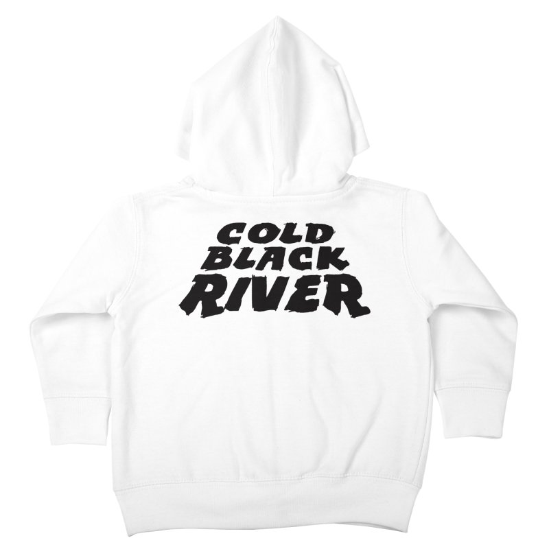 Cold Black River Original Logo Kids Toddler Zip-Up Hoody by COLD BLACK RIVER