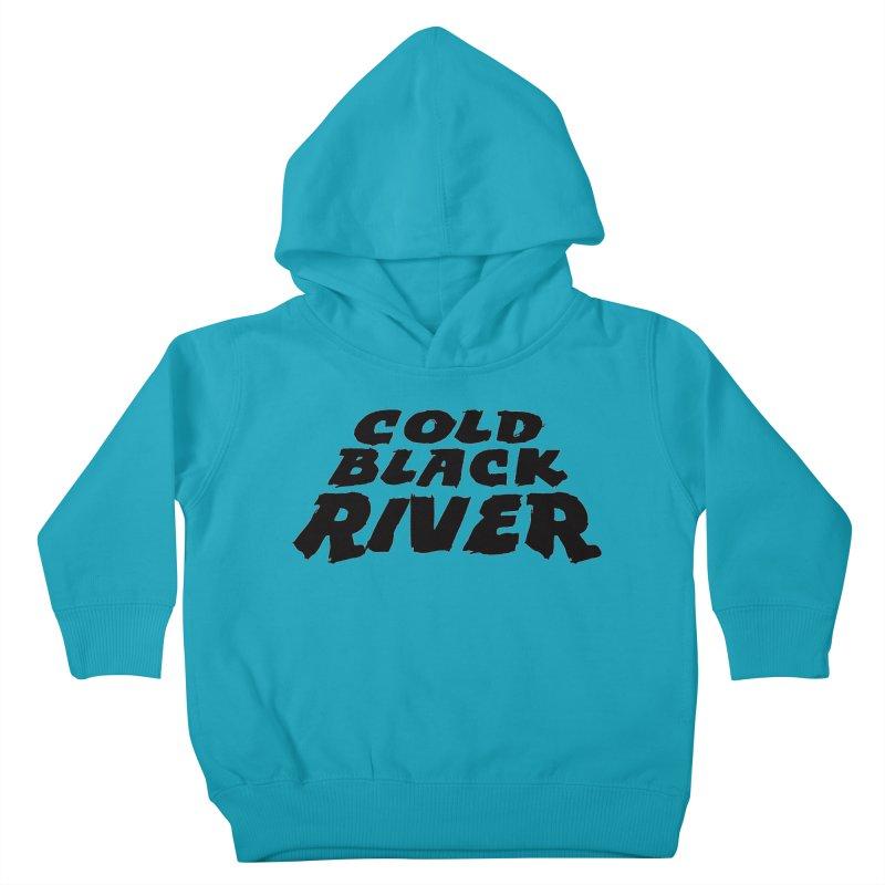 Cold Black River Original Logo Kids Toddler Pullover Hoody by COLD BLACK RIVER