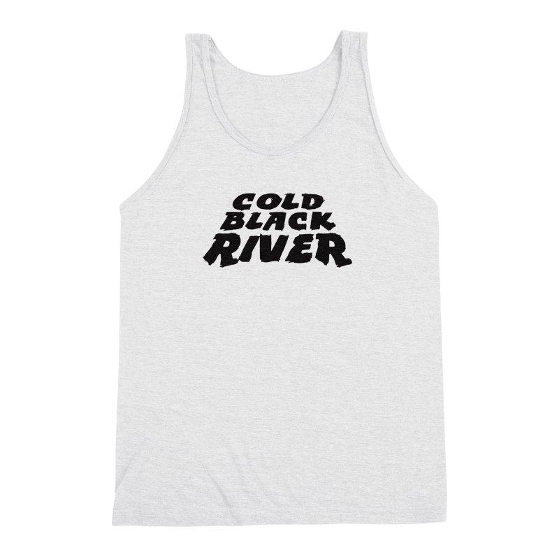 Cold Black River Original Logo Men's Triblend Tank by COLD BLACK RIVER