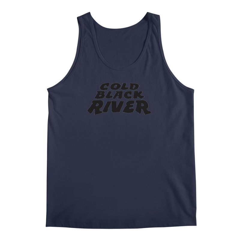 Cold Black River Original Logo Men's Regular Tank by COLD BLACK RIVER