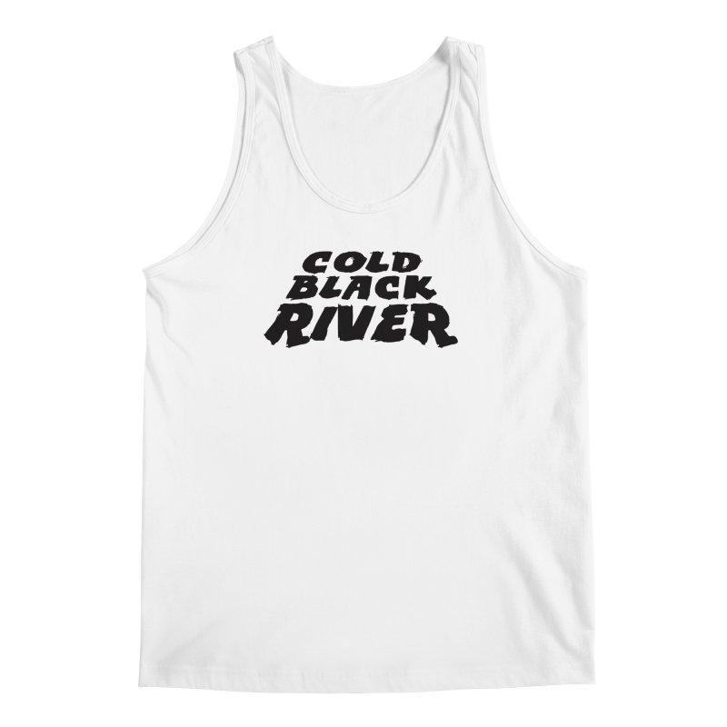 Cold Black River Original Logo Men's Regular Tank by COLD BLACK RIVER