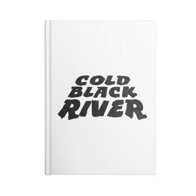 Cold Black River Original Logo Accessories Blank Journal Notebook by COLD BLACK RIVER