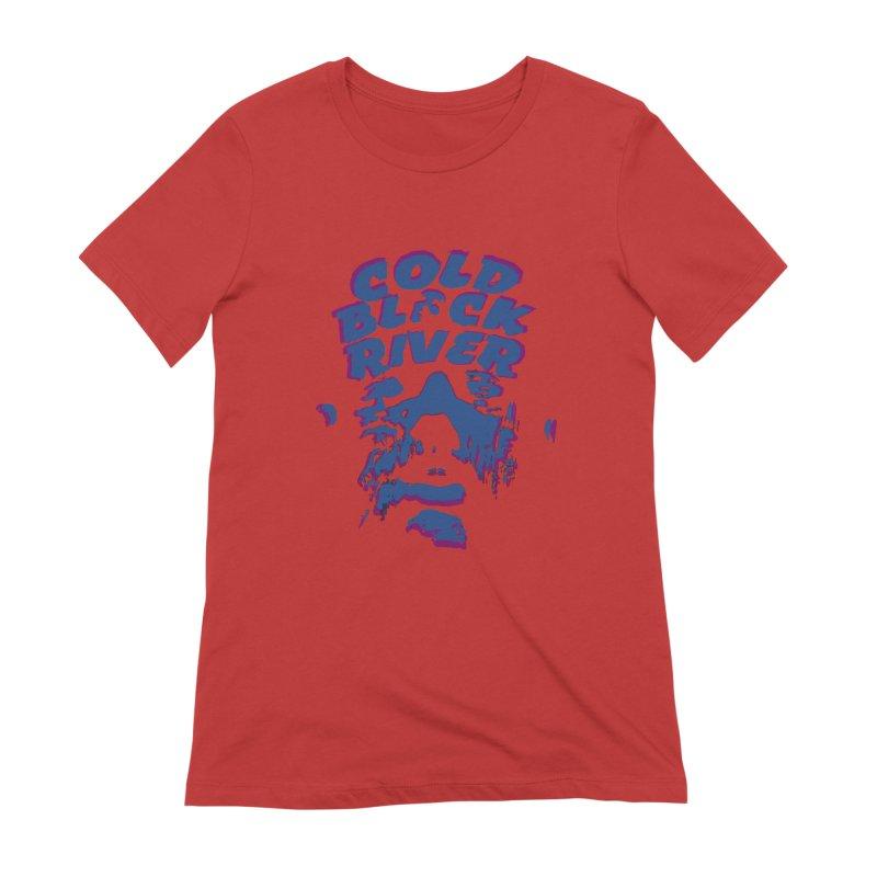 Cold Black River ORIGINAL T-Shirt Women's Extra Soft T-Shirt by COLD BLACK RIVER