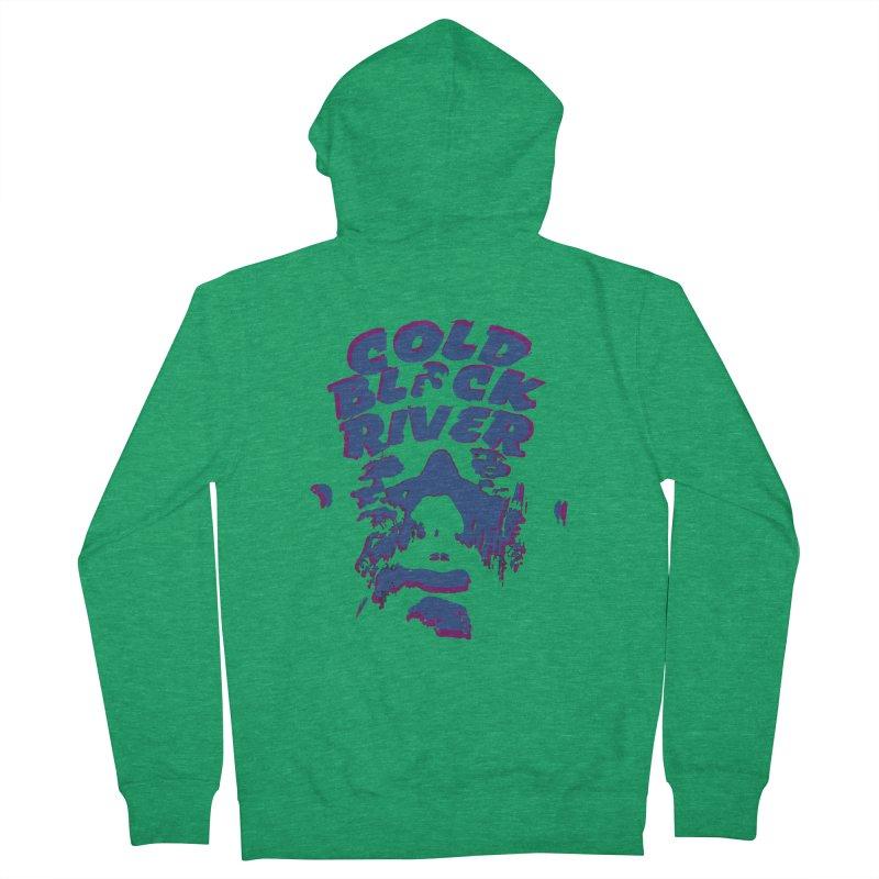 Cold Black River ORIGINAL T-Shirt Men's Zip-Up Hoody by COLD BLACK RIVER