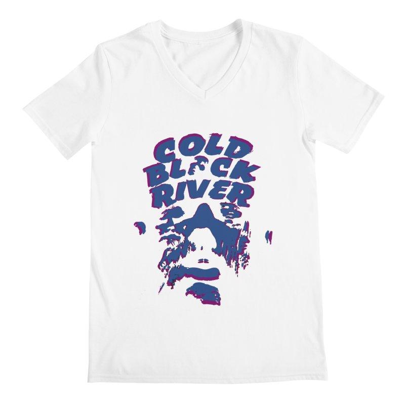 Cold Black River ORIGINAL T-Shirt Men's V-Neck by COLD BLACK RIVER