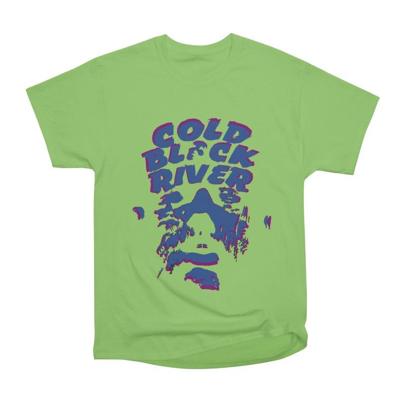 Cold Black River ORIGINAL T-Shirt Men's Heavyweight T-Shirt by COLD BLACK RIVER