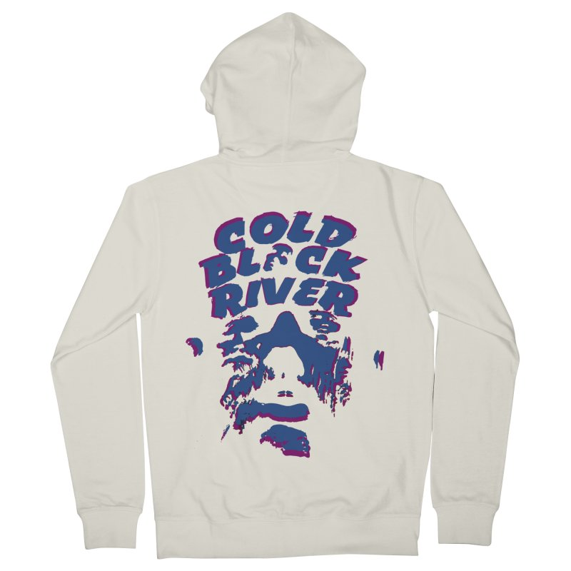 Cold Black River ORIGINAL T-Shirt Men's French Terry Zip-Up Hoody by COLD BLACK RIVER