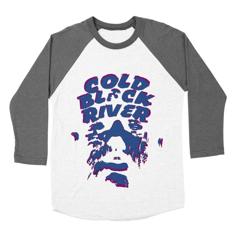 Cold Black River ORIGINAL T-Shirt Men's Baseball Triblend Longsleeve T-Shirt by COLD BLACK RIVER