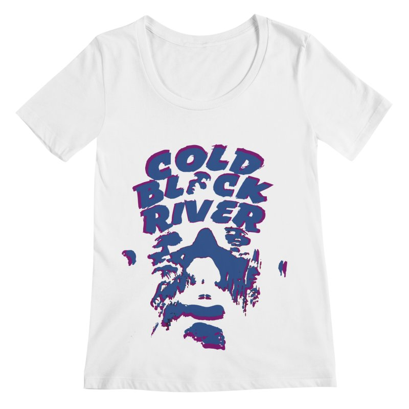 Cold Black River ORIGINAL T-Shirt Women's Regular Scoop Neck by COLD BLACK RIVER