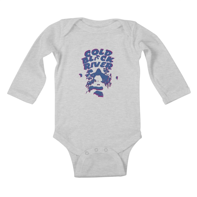 Cold Black River ORIGINAL T-Shirt Kids Baby Longsleeve Bodysuit by COLD BLACK RIVER