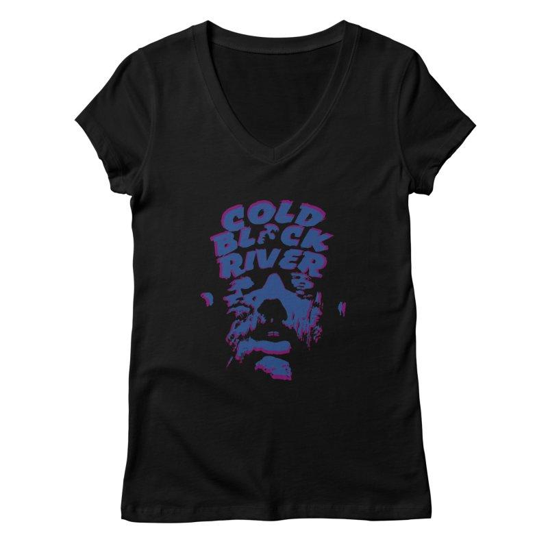 Cold Black River ORIGINAL T-Shirt Women's V-Neck by COLD BLACK RIVER