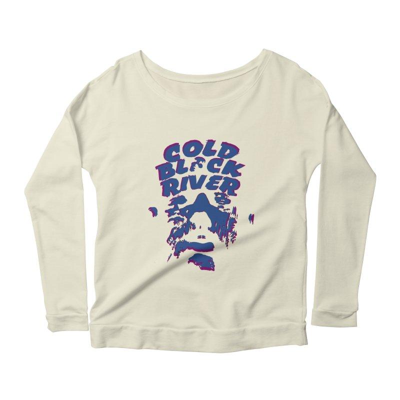 Cold Black River ORIGINAL T-Shirt Women's Scoop Neck Longsleeve T-Shirt by COLD BLACK RIVER
