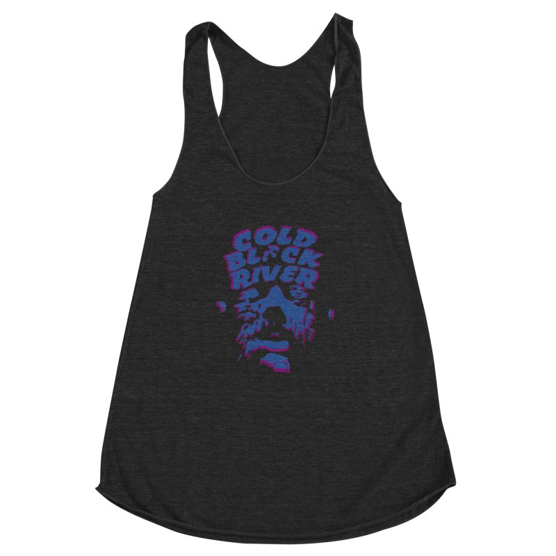 Cold Black River ORIGINAL T-Shirt Women's Racerback Triblend Tank by COLD BLACK RIVER
