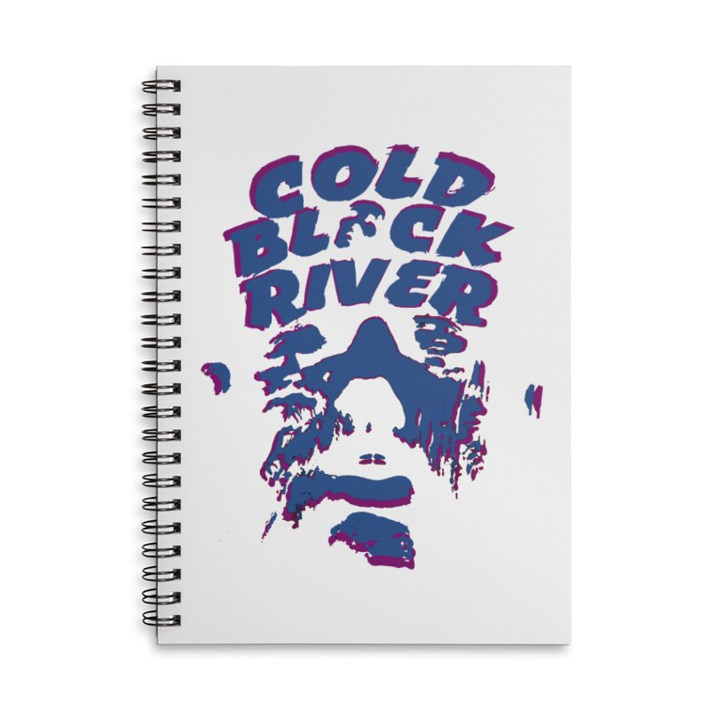 Cold Black River ORIGINAL T-Shirt Accessories Lined Spiral Notebook by COLD BLACK RIVER