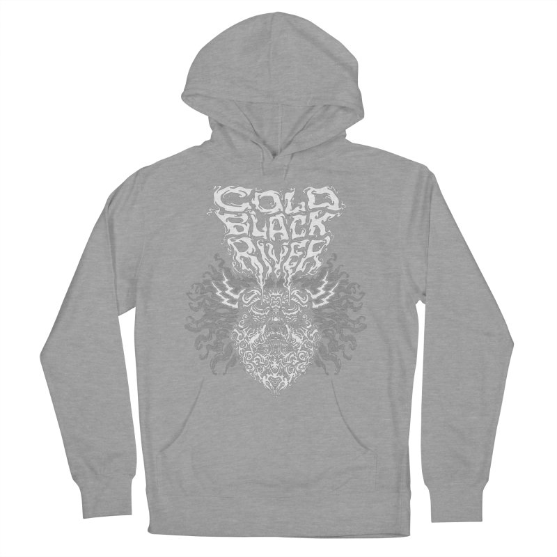 Hillbilly Zeus Women's French Terry Pullover Hoody by COLD BLACK RIVER