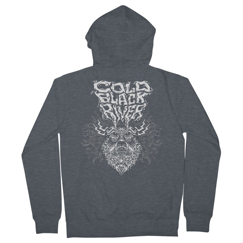 Hillbilly Zeus Men's French Terry Zip-Up Hoody by COLD BLACK RIVER