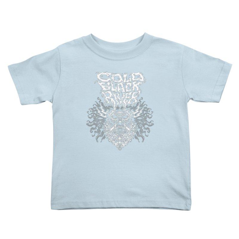 Hillbilly Zeus Kids Toddler T-Shirt by COLD BLACK RIVER