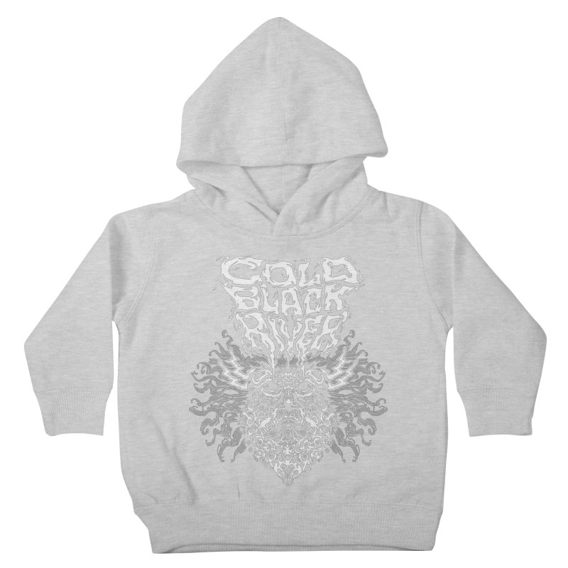 Hillbilly Zeus Kids Toddler Pullover Hoody by COLD BLACK RIVER