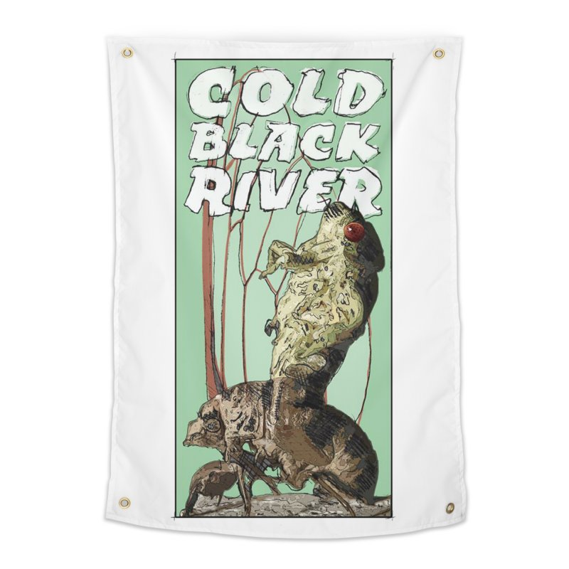 Cold Black River Poster 001 Home Tapestry by COLD BLACK RIVER