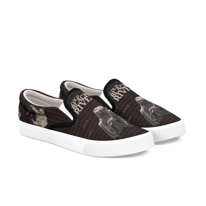 Death's Shoes MENS Men's Slip-On Shoes by COLD BLACK RIVER
